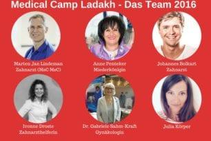 Das Team für das Medical Camp 2016